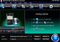 Bigasoft DVD to BlackBerry Converter
