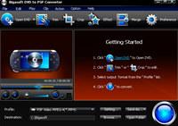 Bigasoft DVD to PSP Converter