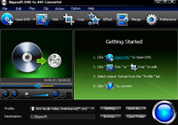 Bigasoft DVD to AVI Converter