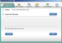 Docsmartz Word To PDF converter