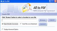 123FileConvert All To PDF Converter