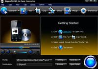 Bigasoft DVD to Zune Converter