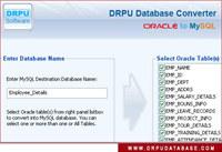Oracle to MySQL