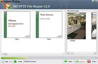 MS PowerPoint PPTX File Recovery