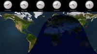 Solar World Clock