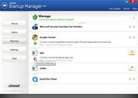 Simnet Startup Manager 2011