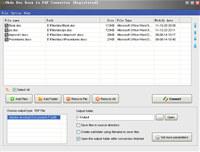 Okdo Doc Docx to Pdf Converter screenshot medium