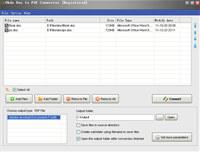 Okdo Doc to Pdf Converter  screenshot medium