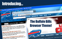 NFL Buffalo Bills Firefox Browser Theme