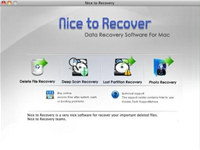 Nice to Recover Data for Mac