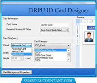 Visitors Management ID Card Design Tool screenshot medium