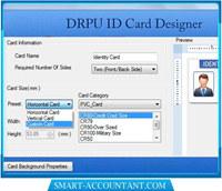 Visitors Management ID Card Design Tool