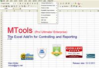 MTools Excel Addin