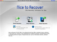 Nice to Recover File for Mac screenshot medium