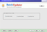 BatchUpdater for Lotus Notes