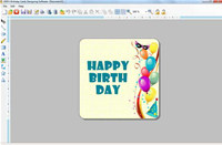 Make and Print Birthday Card