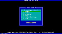 Image for DOS using CUI