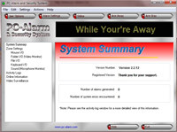 PC-Alarm and Security System