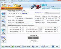 Supply Distribution Barcodes Generator
