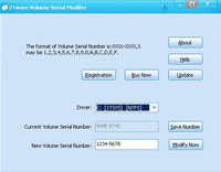 2Tware Volume Serial Number Changer