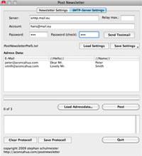 PostNewsletter Mac screenshot medium