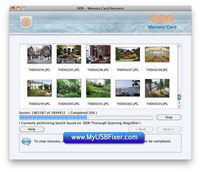 Memory Card Recovery Software Mac screenshot medium