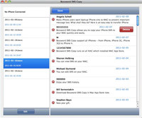 Applesw iPhone SMS Transfer for MAC