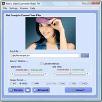Kate`s Video Converter 7 screenshot medium