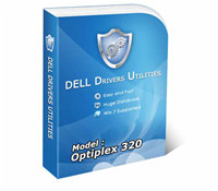DELL OPTIPLEX 320 Drivers Utility screenshot medium