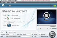 Leawo Free DVD to Apple TV Converter
