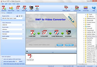 Recool SWF to Video Converter screenshot medium