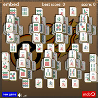 Embed Diamond Mahjong