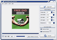 Free SWF to GIF Converter