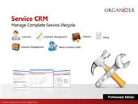 Organizer Professional : Service CRM