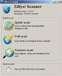 Zillya! LiveCD screenshot medium