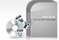 Modiac FLV to AVI Converter screenshot medium