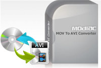 Modiac MOV to AVI Converter