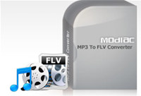 Modiac MP3 to FLV Converter screenshot medium