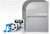 Modiac MP3 to FLV Converter