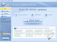 DELL Drivers Update Utility For Windows 7 screenshot medium