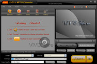ViVE DVD to MPEG Converter