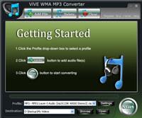 ViVE WMA MP3 Converter