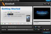 Xlinksoft Blackberry Video Converter