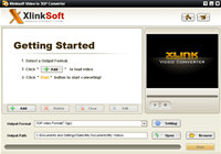 Xlinksoft Video to 3GP Converter screenshot medium