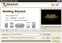 Xlinksoft AVI to Video Converter screenshot medium