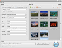 PearlMountain JPG to PDF Converter