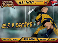 Wolverine and the X-Man M.R.D Escape