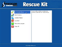 Paragon Rescue Kit Free Edition screenshot medium