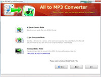 A-PDF All to MP3 Converter screenshot medium