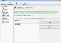 Local SMTP Relay Server
